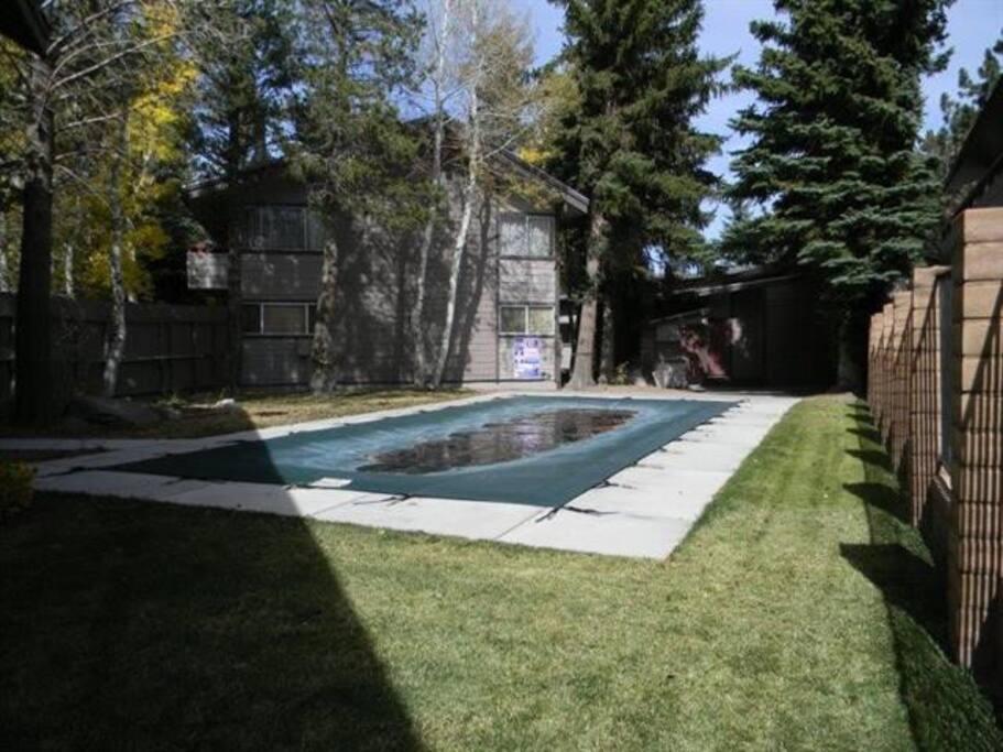 3 hottubs,pool and sauna