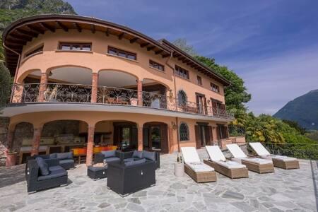 Villa Isola Verde - Valsolda - Villa