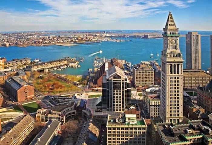 View of Boston Harbor