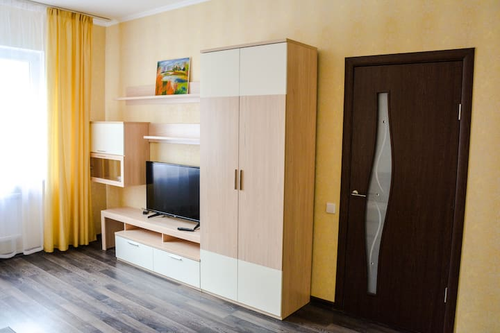 "Cozy apartment near metro ""Partizanskaya"""