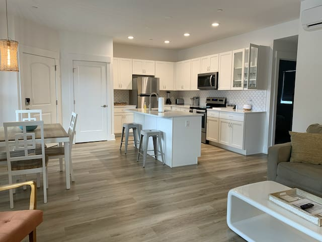 Open floor plan with lots of Florida sunshine