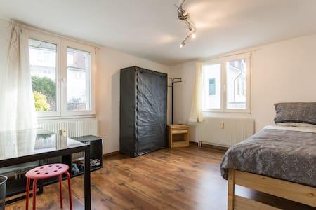 Room (13m2) avlb during Basel Fair - Binningen - Appartement