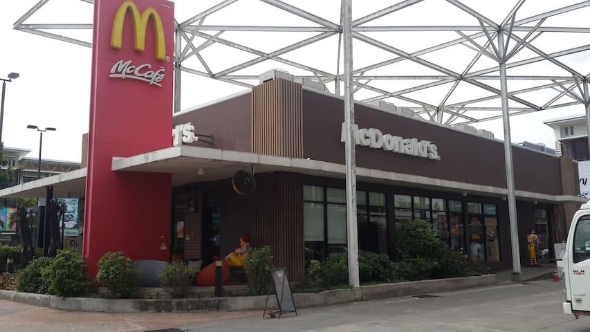 Near McDonald's