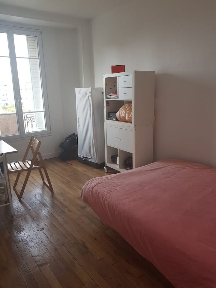 Joli appartement de 25m2 à 5 mn de Paris