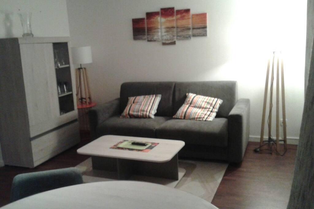 SALON (canapé lit grand confort 140x190)