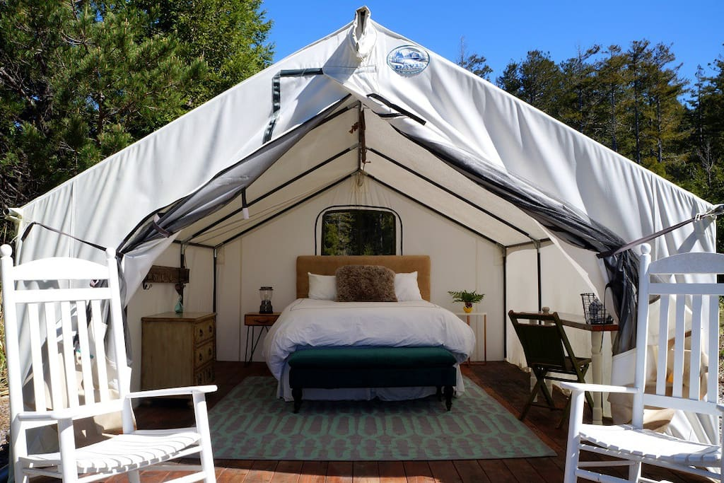 Tent #2 interior