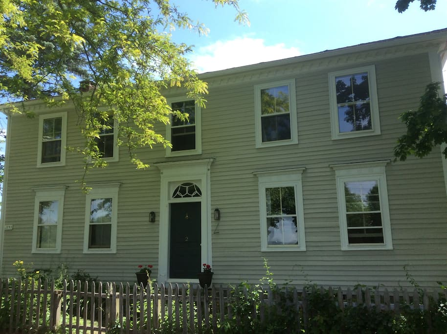 Welcome to The 1797 House, built in our nation's formative years.