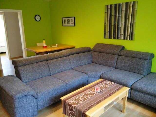 Ruhig, zentral mit 2 Schlafzimmern - Bad Nauheim - Appartement