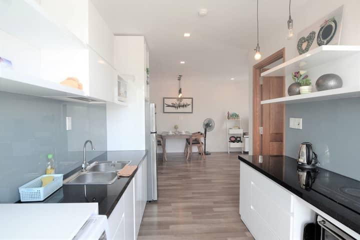 Sunny 2 bedrooms- bysupermarket, in nice residence