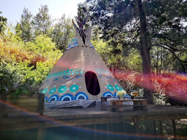 "Magical Teepee Experience! ""Water"" 4/4"