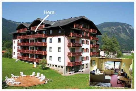 Apartamento para 2 personas en Gosau: piscina, sauna