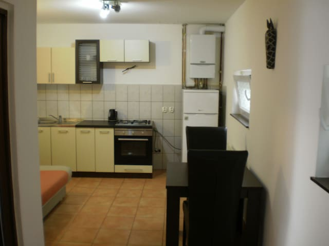 One Bedroom Apartment for 4 people Osijek Center