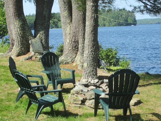 Housekeeping Cabin on Damariscotta Lake