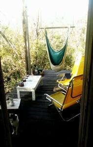 Confortable refugio en plena natura - Tigre - Blockhütte