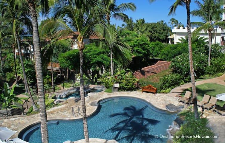 Wailea Beach Villas Penthouse 207 - 2Bd Gardenview - Kihei - Villa