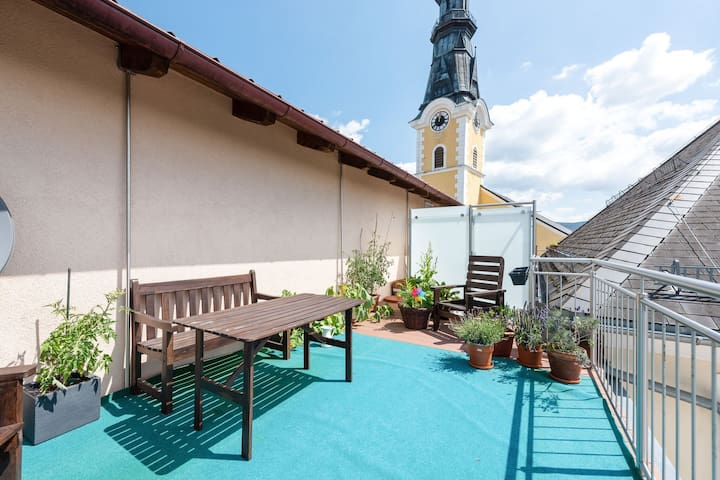 Scenic Apartment in Ulrichsberg near Museum and Jazz Club
