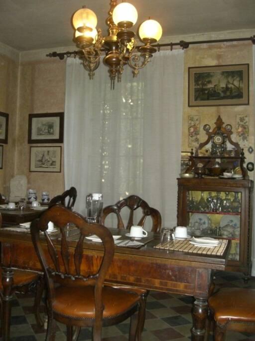 La sala delle colazioni