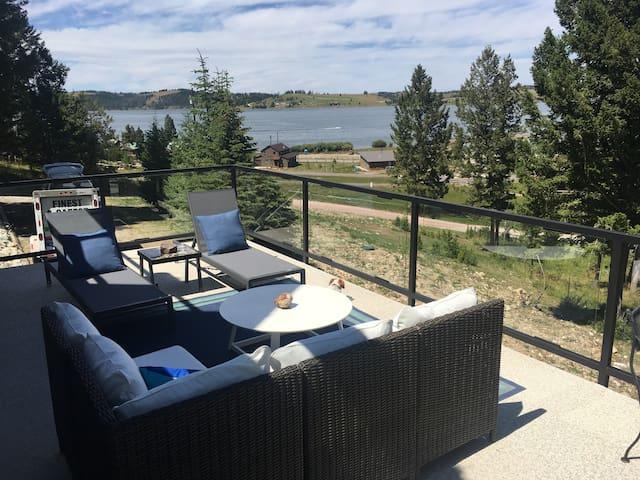 Georgetown Lake MT Lakefront Views