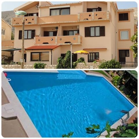 Villa Ivita 2,beautiful view,pool - Pag - Apartment