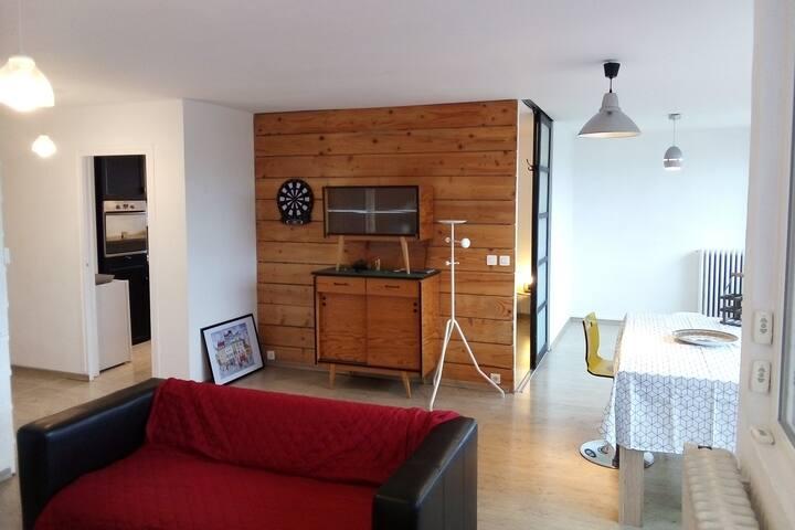 Appartement entier  3 chambres , calme, lumineux