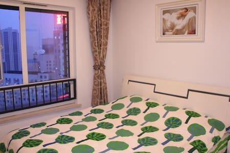 江汉路步行街 循礼门 双地铁 亚心医院 温馨万科正规一室一厅 - Wuhan