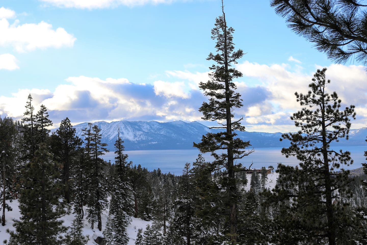 Wake up to gorgeous views of Lake Tahoe from the living room and master bedroom!