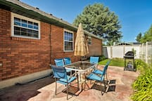 Grill out on the patio or soak in the hot tub!