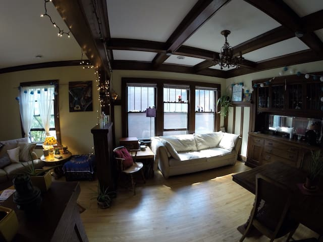 Sunny 2BD in Historic Brownstone - Minneapolis - Pis