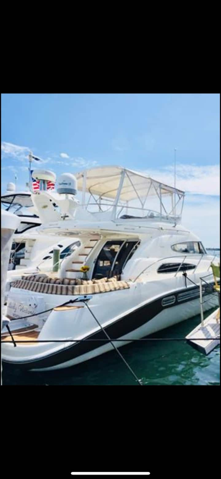 Boat in Montauk Paradise