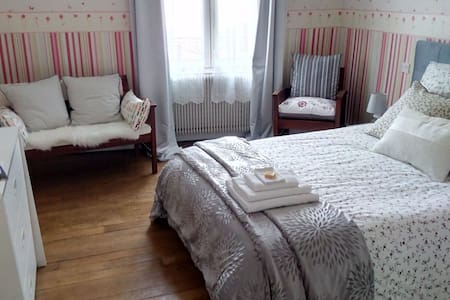 Confortable bedroom - 10 min walk to DT ! - Orléans - Casa