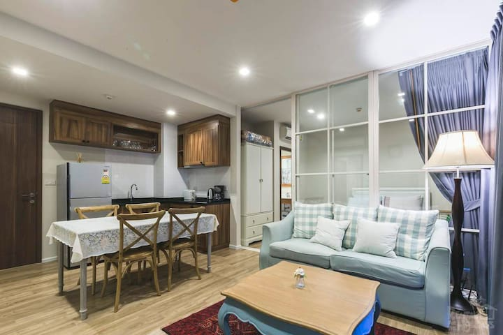 Comfortable condo near the beach + wifi + cable