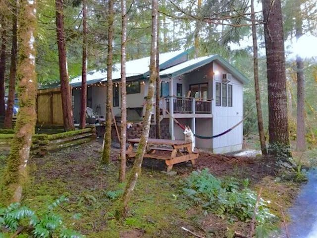 Cozy Forest House with Sauna, Hot Tub and Garden - Packwood - House