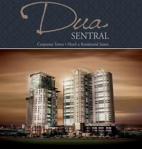 Wonderful 5* hotel apartment next to KL Sentral - Kuala Lumpur - Daire