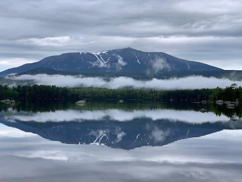 Millinocket Lake:1/2 mile NEOC, snowmobile, XCski