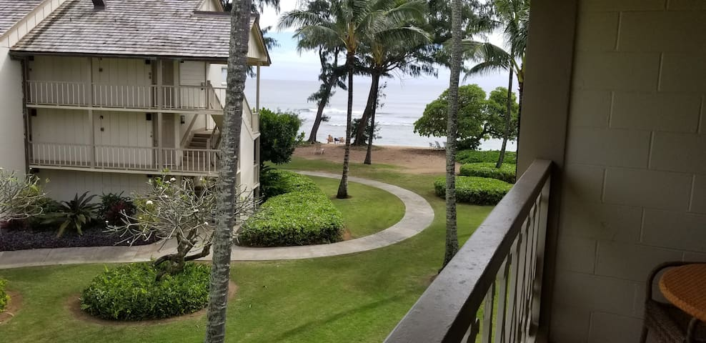Kauai Ocean View Condo Top Floor #356