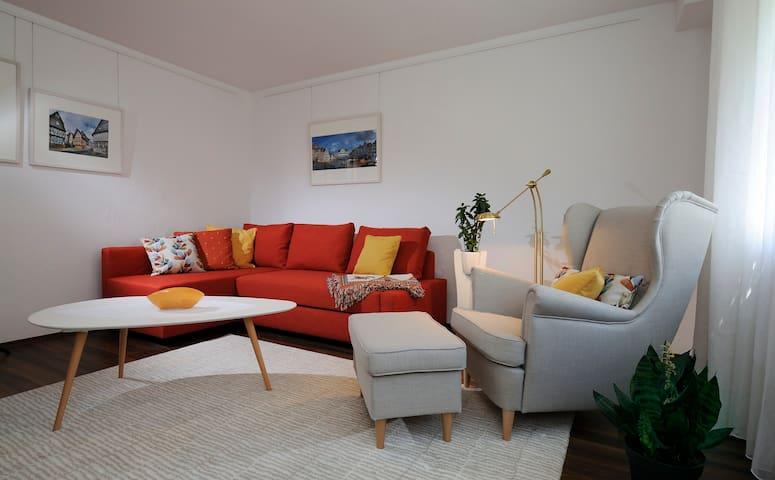 3-Zimmer-Ferienwohnung mit Garten und Terrasse