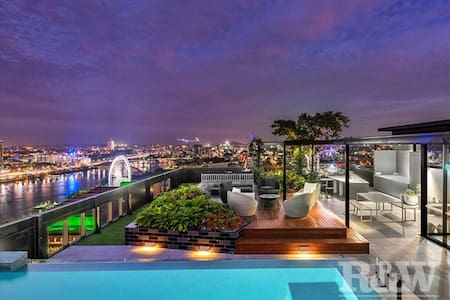 Amazing city view unit - South Bank Cultural Area - 布里斯班南区(South Brisbane) - 公寓