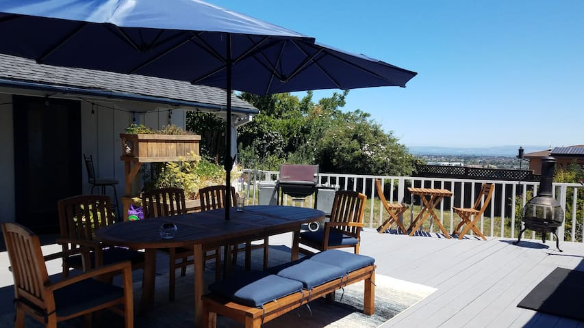 Stunning Views from a Large Deck