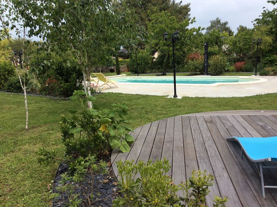 G te en anjou avec piscine vacation homes for rent in for Camping pays de la loire avec piscine
