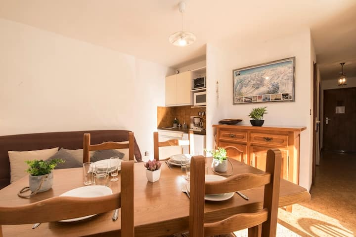 LOCATION APPARTEMENT SAINT LARY SOULAN/ QUARTIER THERMAL-TELECABINE/4 PERS