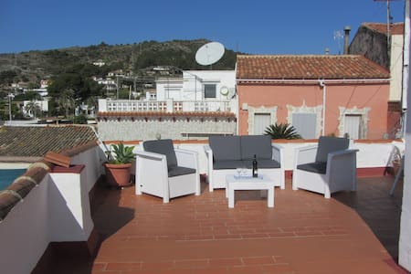 2 bedroom bungalow, huge terrace , & views of Med. - Oliva