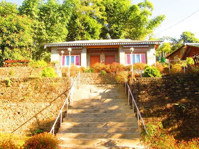 A cottage at Lamthang Retreat - Pelling - Ev