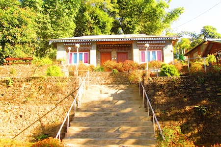 A cottage at Lamthang Retreat - Pelling