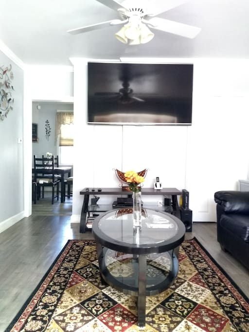 "Living Room 70"" Smart Tv"