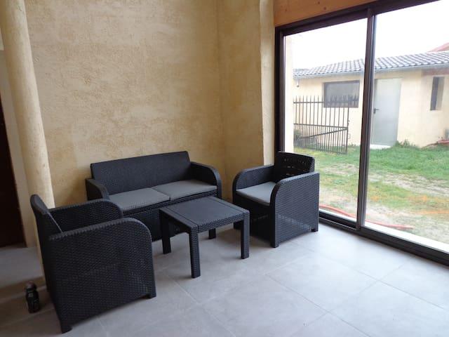 Maison en location pour l'été à la semaine - 140m2 - Charnoz-sur-Ain - Casa
