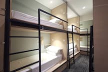 Single bunk-bed