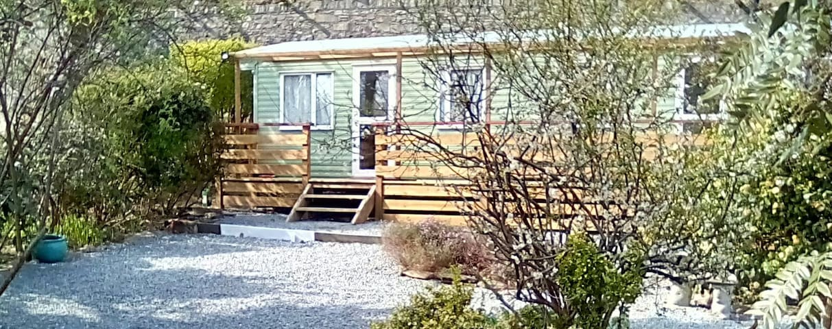 Pen Coed Caravan on Private Land Mawddach Estuary