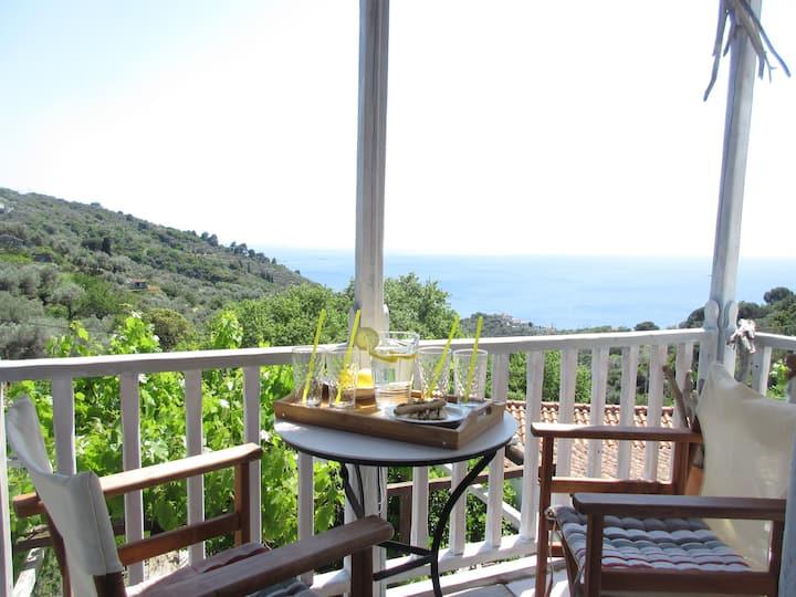 """MONOPATI""✨Simple Luxury House in Skopelos/Glossa"