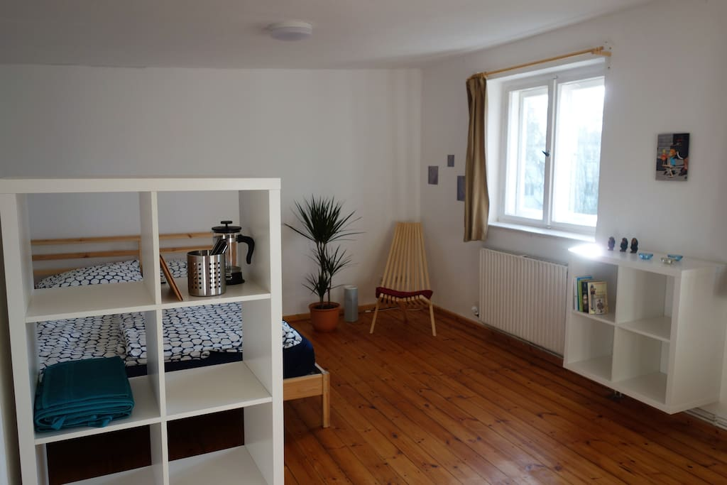 sonniges Zimmer/  sunny room