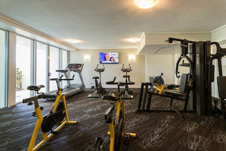 Free gym if you feel like getting active